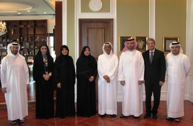 Al Habtoor with Al Jalila Foundation's Trustees
