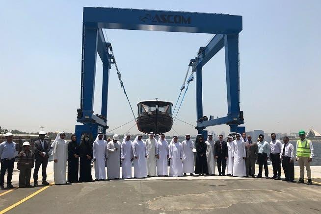 Al Masaood Power Division Successfully Installs Mobile Boat