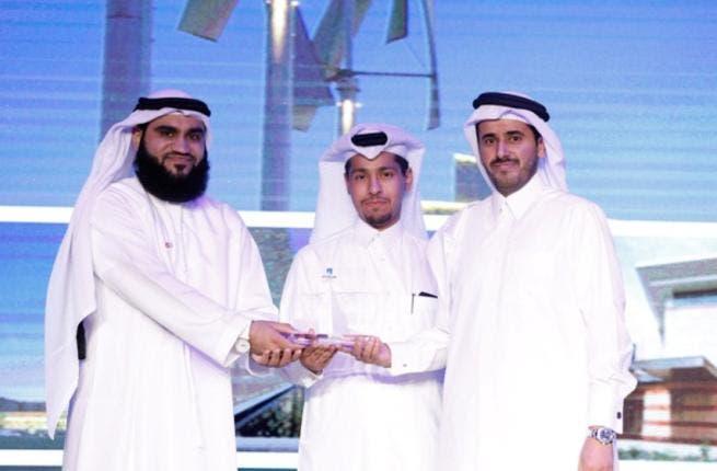 Ali Bin Nasser Al-Khalifa , CEO of ASTAD Project Management receiving the award-Cityscape 2013