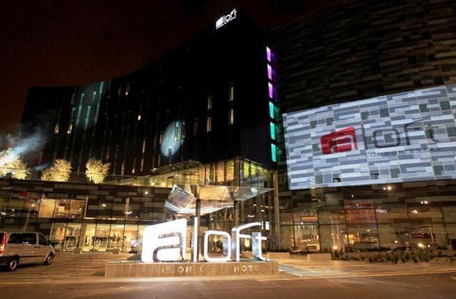 Aloft London Excel exterior