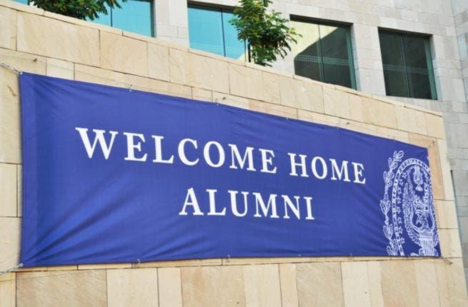 Alumni Welcome Banner