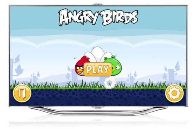 Angry Birds App for Samsung Smart TV