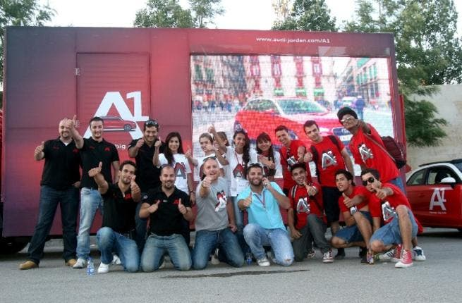 The new Audi A1 was launched in a very hip and interactive event targeting young, urban, lifestyle-oriented youth