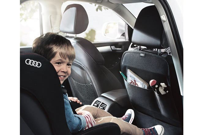Ali Sons Audi Highlights The Importance Of Road Safety With Child - Audi baby car seat