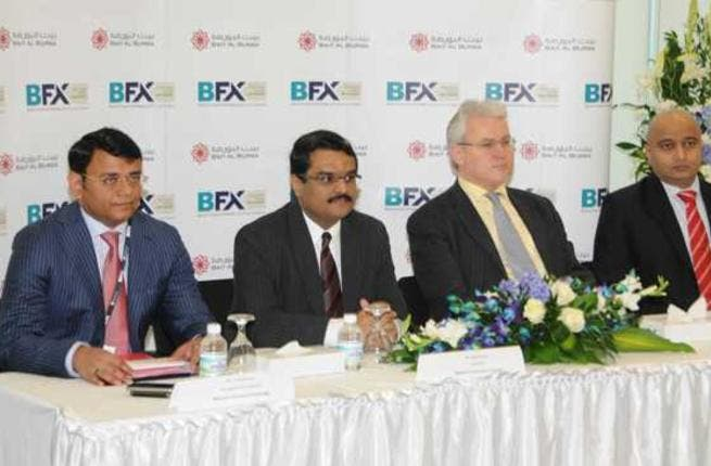 From left-right: Mr. Arshad Khan, Mr. Jignesh Shah, Lambertus Rutten, Managing Director & Chief Executive Officer, Multi Commodity Exchange of India Ltd. (MCX) and Board Member of BFX, and Mr. Miten Mehta, Director, Global Market Development and Communications