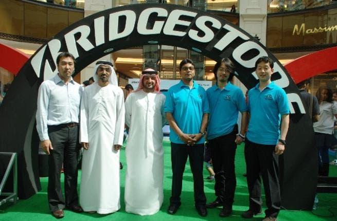 Bridgestone Tyre Safety team in Dubai