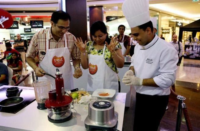 BurJuman World Food Fest 2012