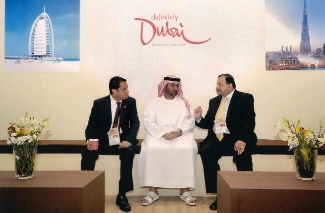 Al Bustan in New Delhi Travel Show under the banner of Dubai Tourism and Commerce Marketing
