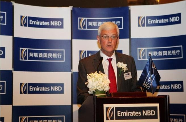 Rick Pudner, Chief Executive Officer, Emirates NBD