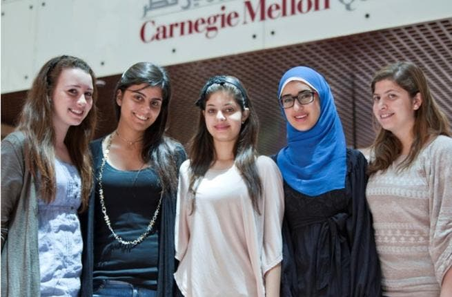Carnegie Mellon students
