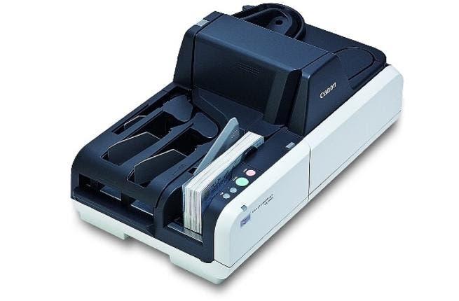 Canon new UV cheque scanner