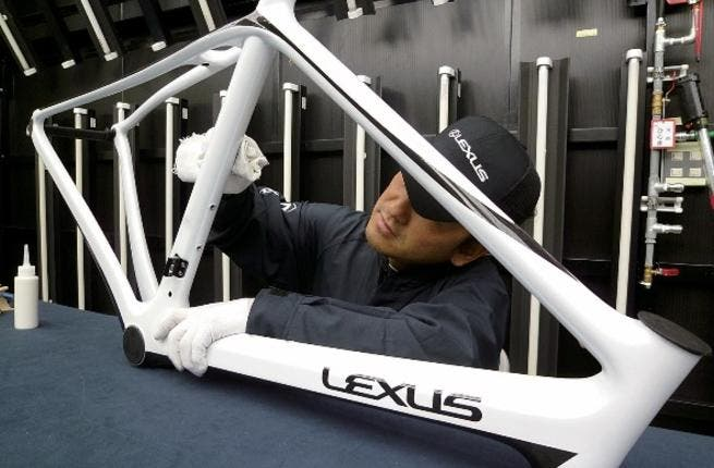 CTA Proudly Showcases 1 Out Of 100 Limited Edition Lexus F Sport Road Bikes  In Its Showroom