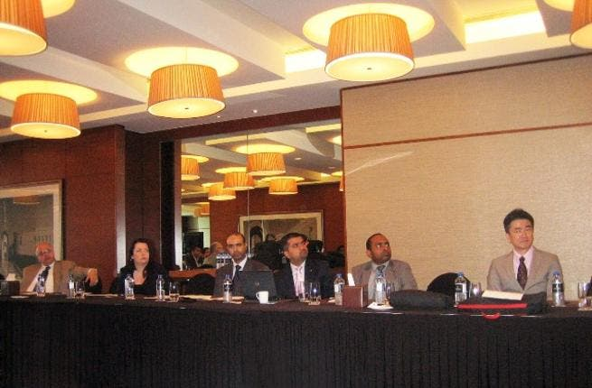 During the Regional Partner Communication Meeting