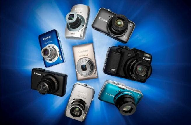 All of the new models feature Canon's HS System – combining a high-sensitivity 12.1 Megapixel CMOS sensor and powerful DIGIC 4 processing