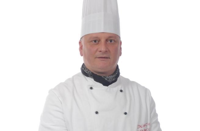 Italian chef Luca Bracchetti