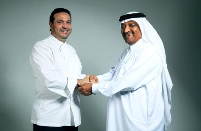 Chef Osama El Sayed, Braun Ambassador & Saeed Mubarak Al Mazrooei, Deputy General Manager of Beit al Khair
