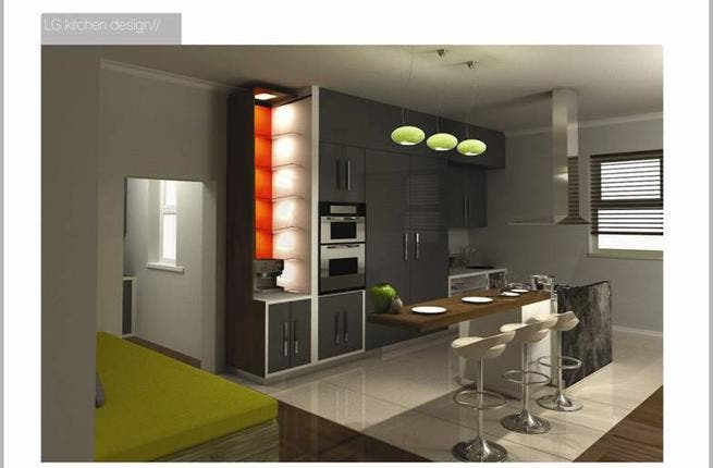 Good Kitchens Of The Future, As Imagined By Design Students For Conceptualife  2010