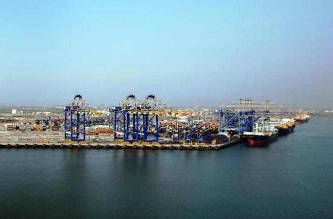 Terminal 1 and Terminal 2 of Port Qasim, DP World Karachi