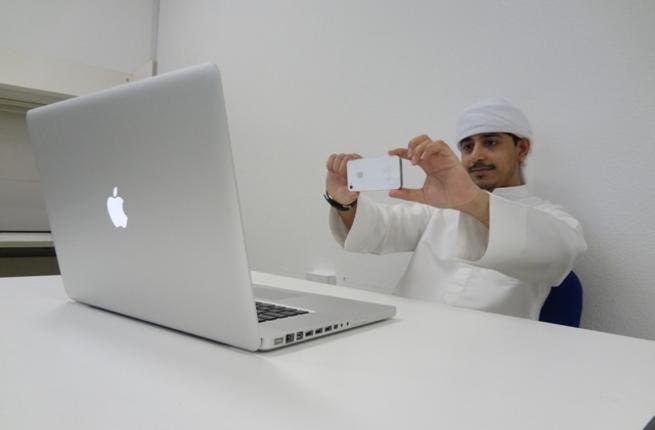 Khalifa University student