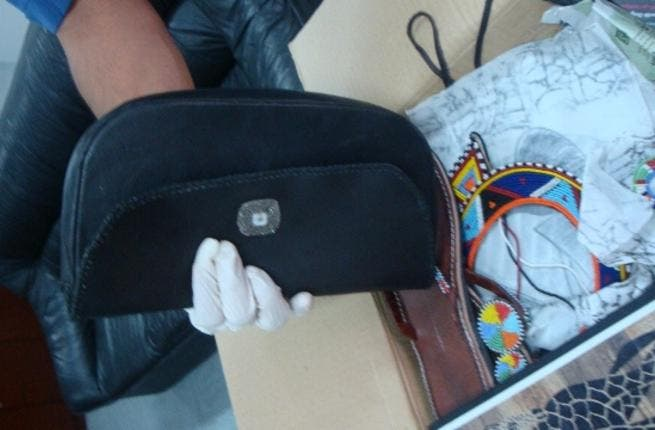 The drugs which were extracted from a lady handbag