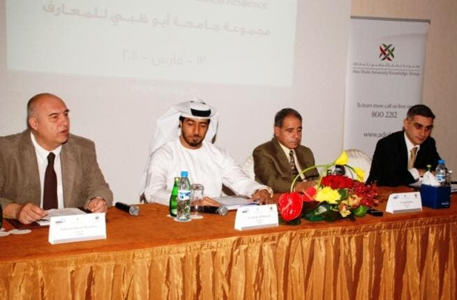 During the launch of the International Center for Business Resilience