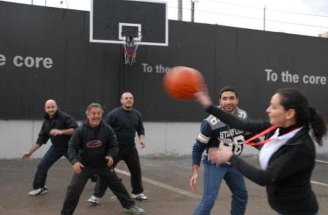 Nuqul Automotive basketball match