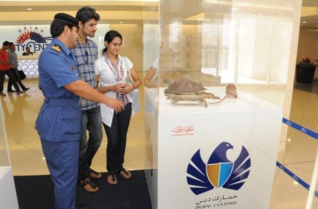 Dubai Customs awareness campaign at Deira City Center