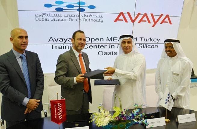 DSOA and Avaya Signing Ceremony
