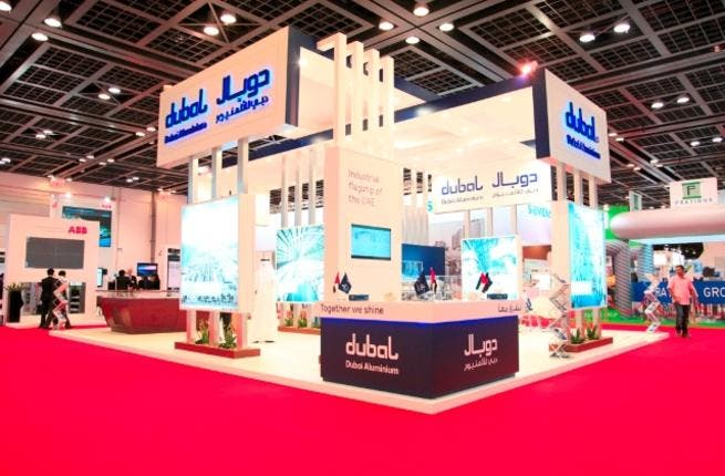 DUBAL stand at WETEX 2012