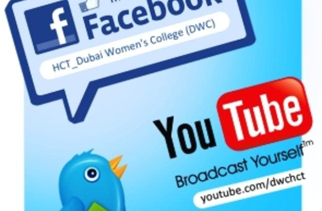 Dubai Women's College goes social!
