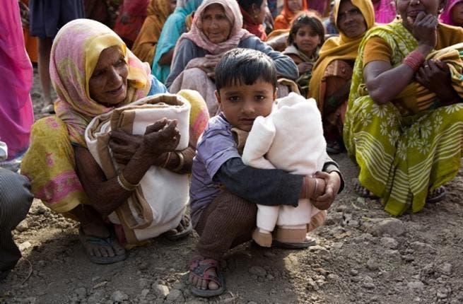 Delhi blanket donation drive