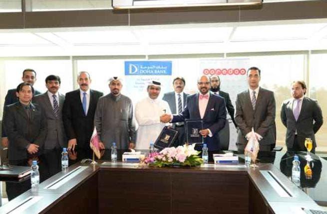 Doha Bank And Ooredoo Sign Pioneering Technology Agreement Al Bawaba