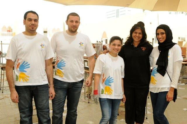 Dubai Cares event