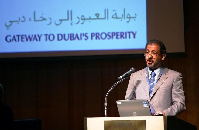 HE Ahmed Butti Ahmed, Dubai Customs' DG, during his speech