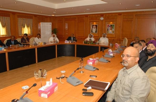 Side of the quarterly fourth meeting of the Consultative Council at Dubai Custom's headquarters