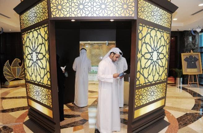 """Furdha Lantern"", a sizeable lantern placed at Dubai Customs' main building"