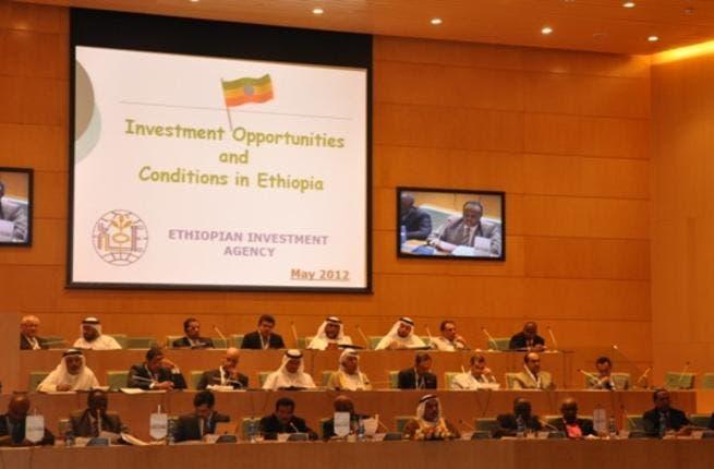 During UAE-Ethiopia Business Forum