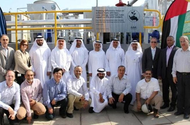 During the official inauguration of DUBAL's absorption chiller