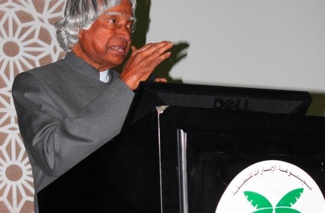Dr. APJ Abdul Kalam Azad during his lecture