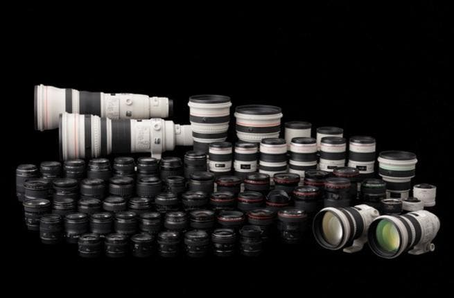 EF lens collection