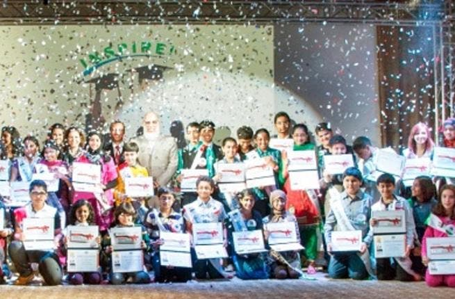 EQUATE President & CEO Mohammad Husain With Honored Students