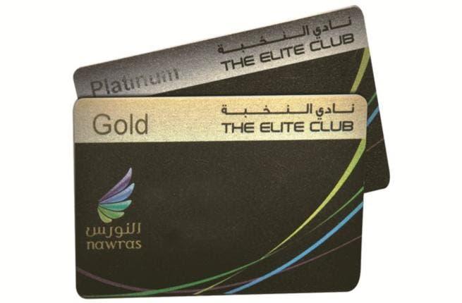 Elite Gold and Platinum card