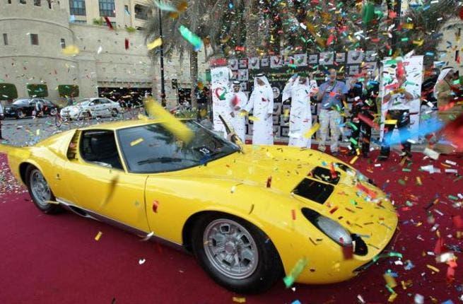 Emirates Best of the show award, 1976 Lamborghini Mura