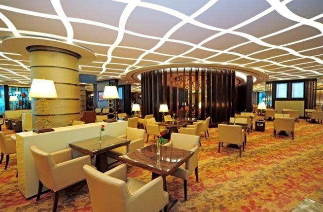 Emirates' First Class Lounge in Dubai