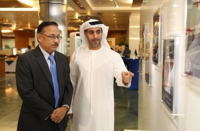 SuvoSarkar and Saif Al Mansooriwith