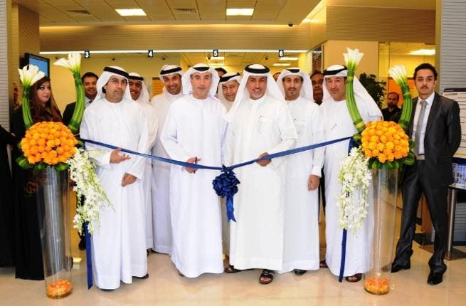 The opening of the new Emirates NBD branch in Sharjah