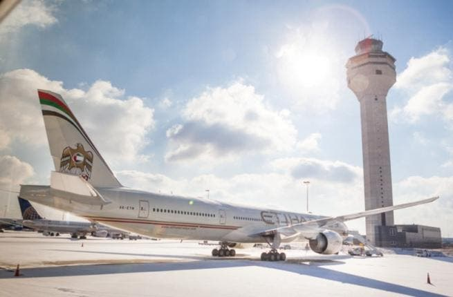 Etihad Airways today opened the doors on one of its brand new aircraft for the airline's first-ever 'on-board showcase' in Washington