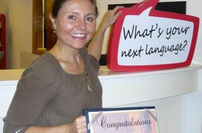 Eton Institute's first lucky winner