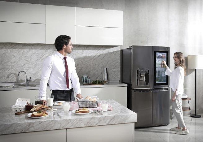 ال جي تقدم كل ما يجعل مطبخك اكثر ذكاءً   البوابة
