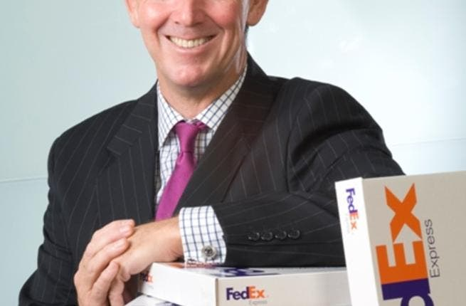 David J. Ross, Senior Vice President of Operations for FedEx Express Middle East, Indian Subcontinent & Africa